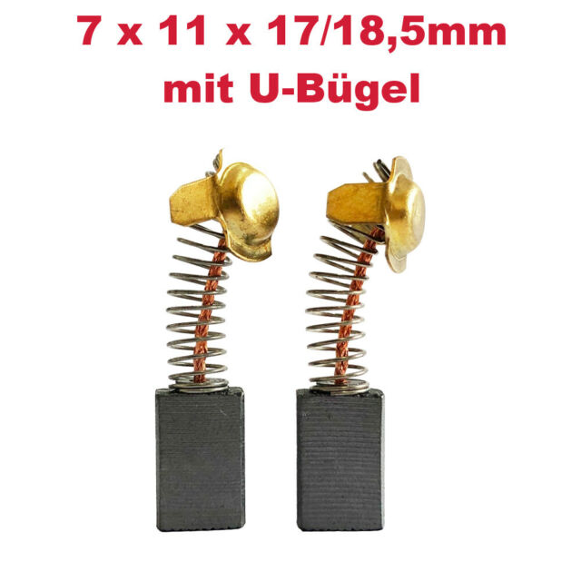 2x MotorKohle 7 x 11 x 16,5mm für Hitachi 999-043 999043