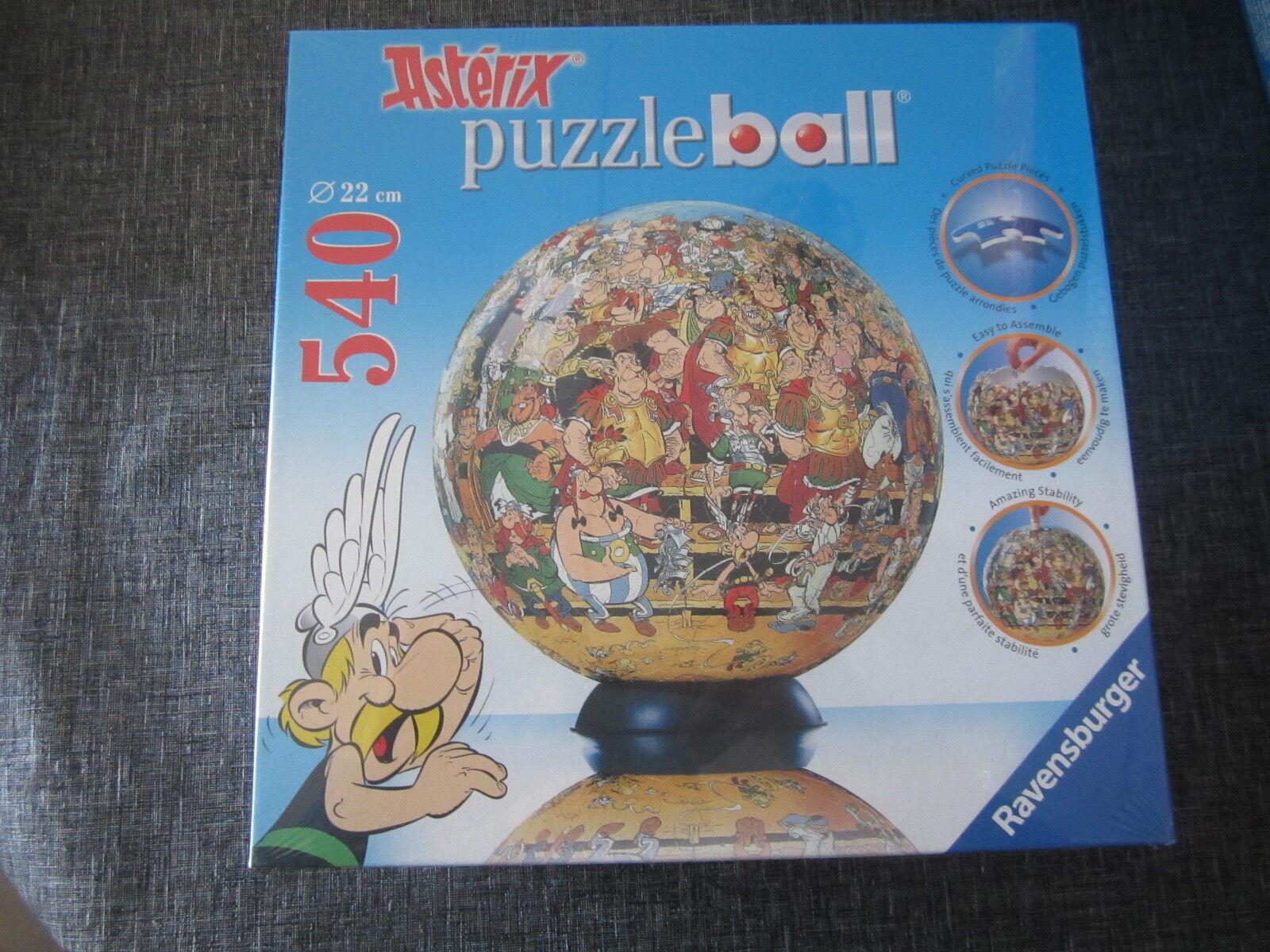 PUZZLE BALL 540 RAVENSBURGER ASTERIX 22 CM   9 CM AÑO 2006