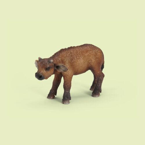 "14641 NEUF /""Grands buffles veau/"" /"" BUFFALO Calf/"" #schleich Drapeaux-NEW with tag!!!"
