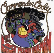 Lost in the Ozone by Commander Cody and His Lost Planet Airmen (CD, Oct-1990, MCA)