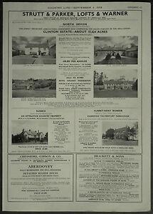 Clinton-Estate-Hudscott-House-Devon-Estate-Agent-Details-1958-1-Page-Advert
