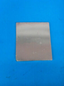 1pcs Zinc Zn Anode Sheet Plate For Hull Cell 3mm X 70mm X