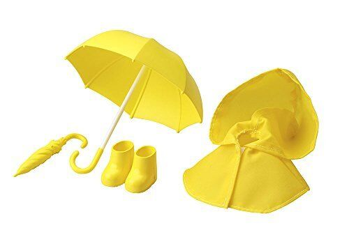 Cu-poche Extra 03y Rainy Day's Set (Yellow) Figure Kotobukiya NEW from Japan