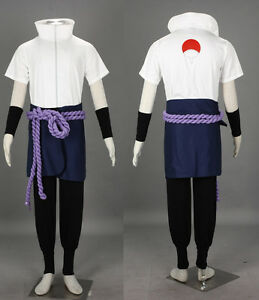 Naruto-Uchiha-Sasuke-Orochimaru-Cosplay-set-costume-Kostuem-Shirt-Anime-Manga-neu