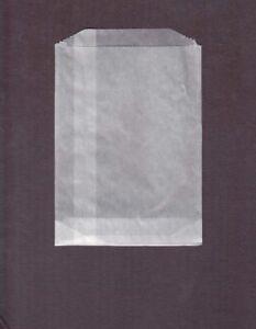 100 Petites Glassine Sacs #1 4 3/4 X 6 3/4 Haute Qualité Cire Papier Timbre De Conservation-afficher Le Titre D'origine