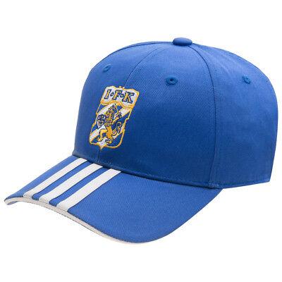 IFK Göteborg adidas 3 Stripes Cap Fußball Fan Kappe Blau X34190 Schweden neu