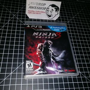 Replacement Case Manual Only Ninja Gaiden 3 Playstation 3 Ps3