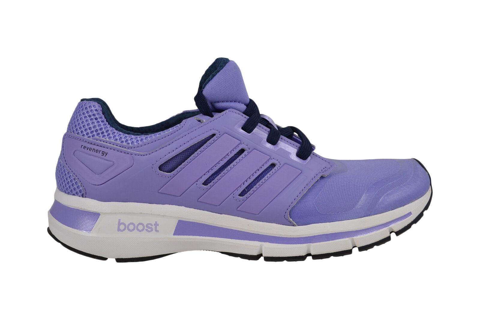 Adidas Revenergy Techfit W glow purple/WEISS Boost Laufschuhe M17441