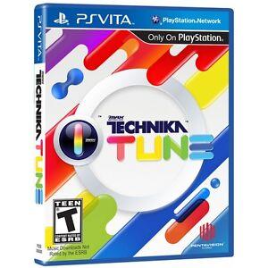 DJ Max Technika Tune [T] (PS Vita) Brand New Factory Sealed