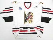 DRUMMONDVILLE VOLTIGEURS QMJHL AUTHENTIC PRO WHITE CCM HOCKEY JERSEY SIZE 54