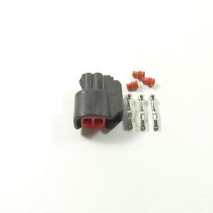 1X2way-EV6-Injector-Plug-Connector-USCAR-Bosch-ID-EV11-EV14Fuel-Clip