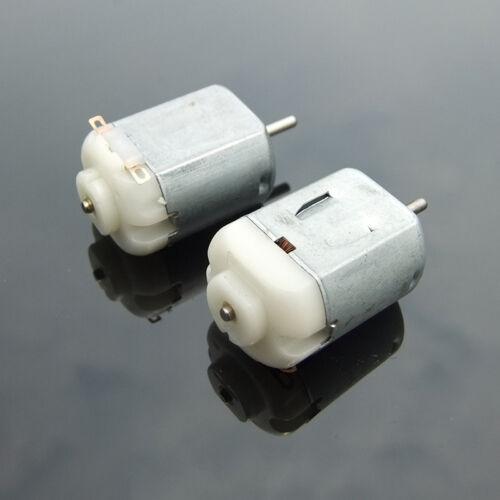 2PCS DC3V 5V 6V 20000RPM High Speed Micro Mini 130 DC Motor DIY RC Car Toy Model