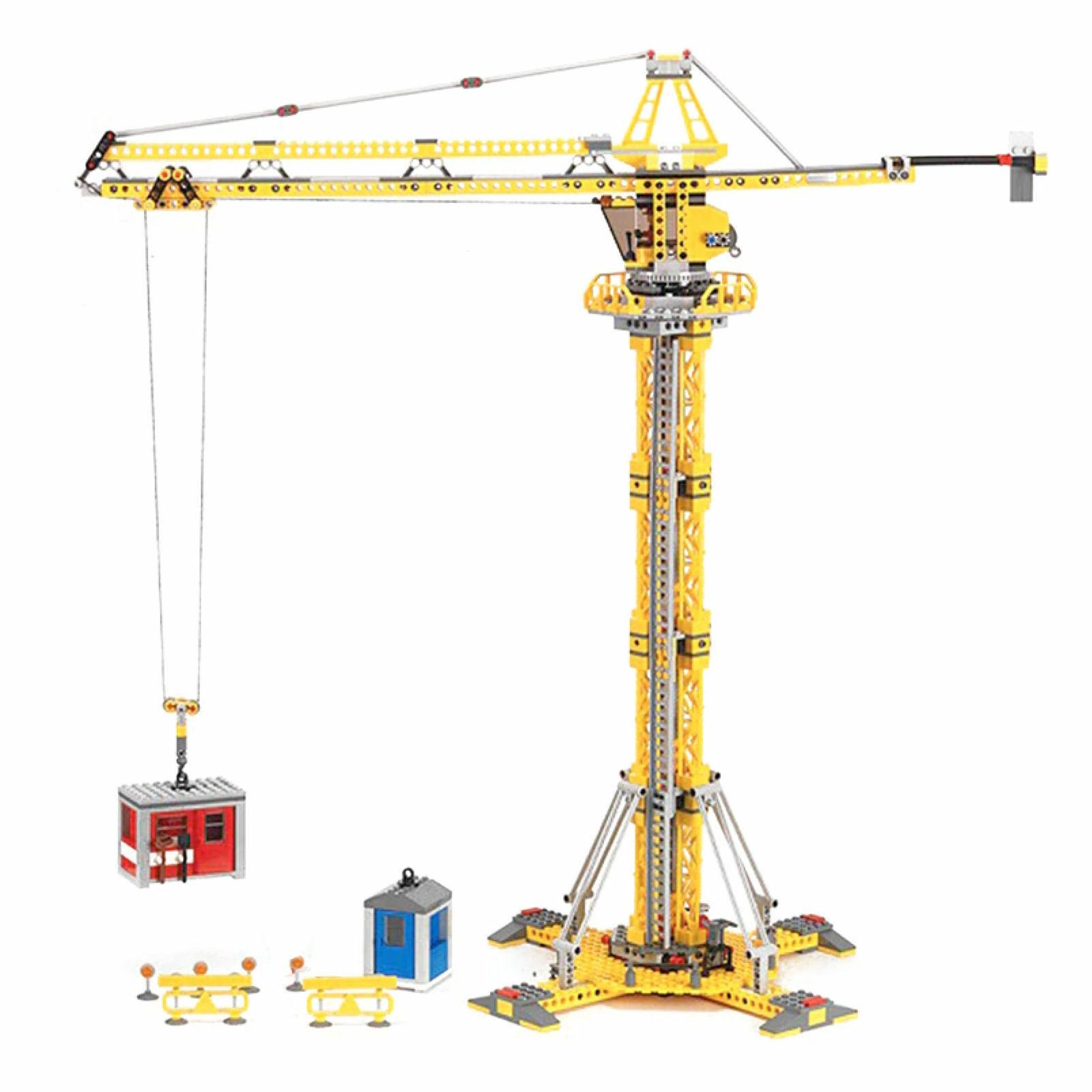 Tower crane CX 02069 Modell kits Stadt 7905 Stadt serie Genuine 778Pcs building