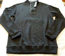 prAna Men/'s Barclay Sweater Charcoal Medium