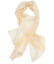 NEW Ex Laura Ashley Natural Cream Pop Pom Pom Trim Shawl Long Wrap Scarf RRP 26