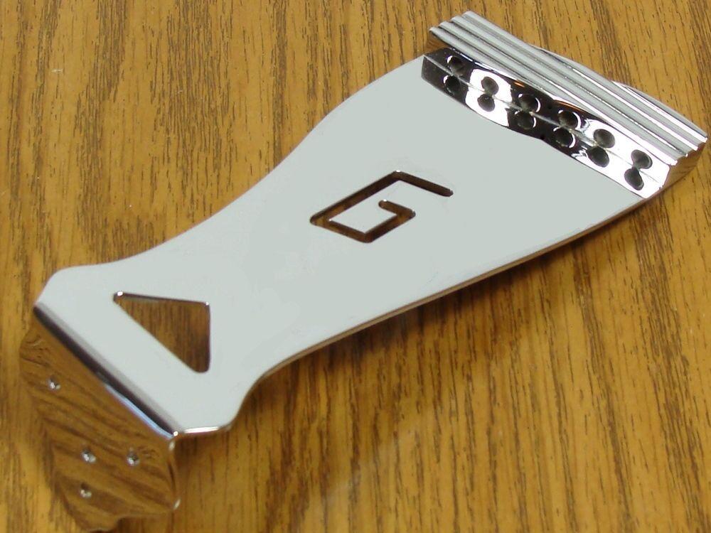 NEW Gretsch Chrome  G  Cutout Tailpiece Bridge Arch Top Hollow Body