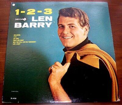 Len Barry Of The Dovells 1 2 3 1965 Decca Dl 4720 R Amp R Mono