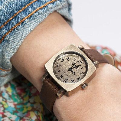 Vintage Women Men Korean Square Digital Wrist Watch Student 5 Colors