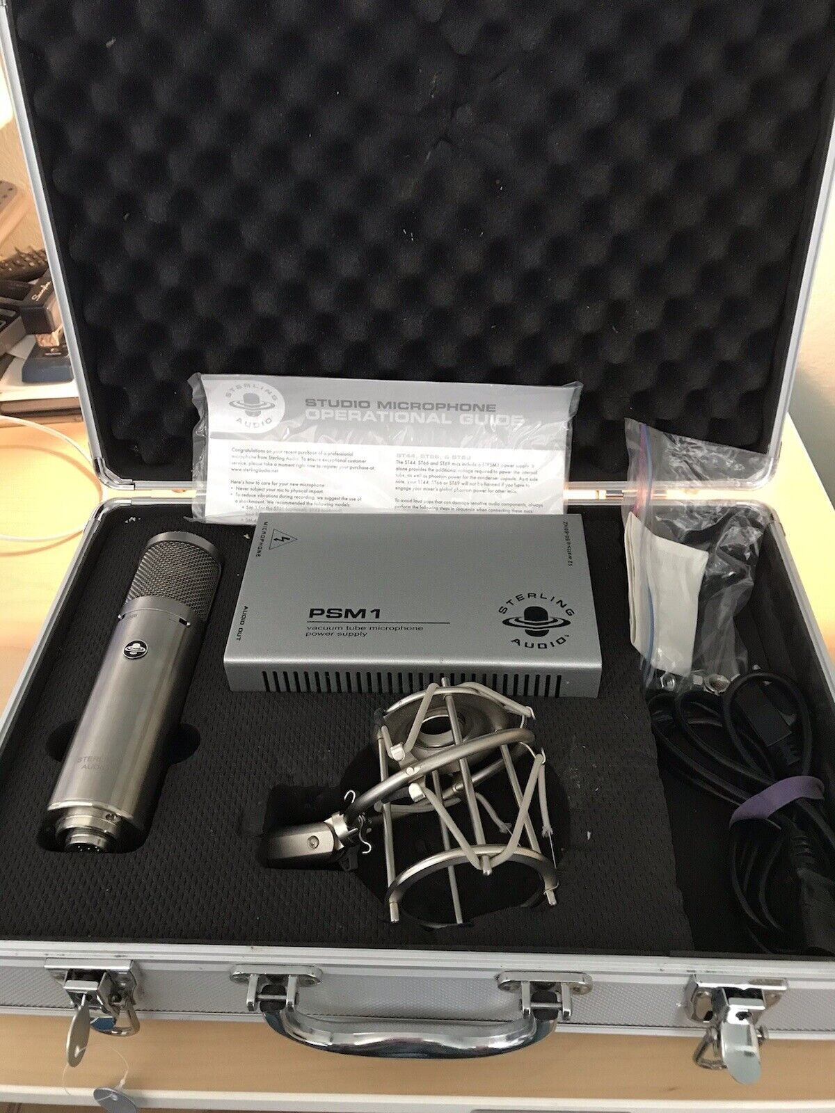 Sterling Audio ST69 Professional Microphone PSM1 Vacuum Tube Power Supply. Buy it now for 400.00