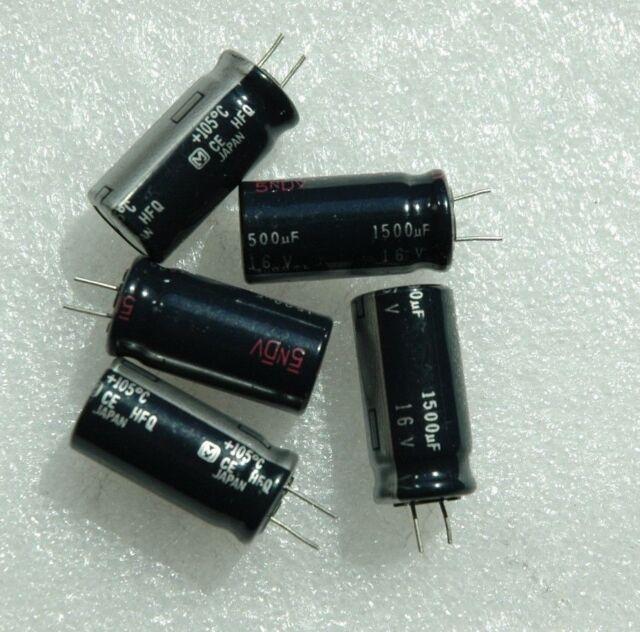 Capacitors 150@250v  105 ºC Radial