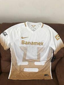 b35ca89573b Nike Pumas Unam 2015 Liga Mx Mexico Soccer Jersey NWT Size L Mens | eBay