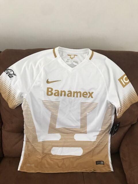 4e4d4f5e Nike Pumas Unam 2015 Liga Mx Mexico Soccer Jersey NWT Size L Mens   eBay