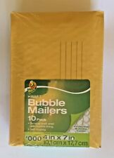 Duck Brand Kraft Bubble Mailers 000 4x 7self Sealing 10 Count