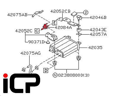 Carbon Canister 2 Way Valve Fits Subaru Impreza 00-07 WRX STi
