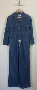 NWT-Levi-039-s-Luella-Denim-Utility-Jumpsuit-Romper-Medium-M-Loose-Fit-Jeans-128