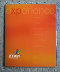 Microsoft Windows XP Professional Upgrade Software Version ...
