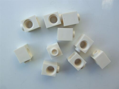 Parts /& Pieces 10 x Lego White TECHNIC BRICK 1X1-654101