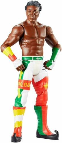 "WWE Xavier Woods ACTION FIGURE 6/"" neuf avec carte Pli"