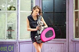 Poussette pour animaux de compagnie, ips-025 / pink, chien / chat Transporteur, chariot, remorque, Innopet, pliable Buggy 8718403400656