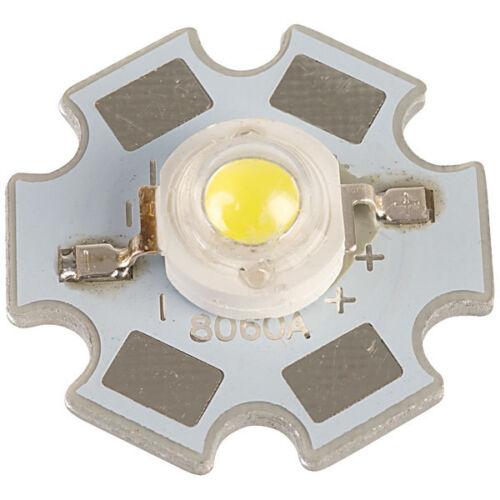 TruOpto OSW4XME3C1S 3W 3.3V White Power LED Star 200lm