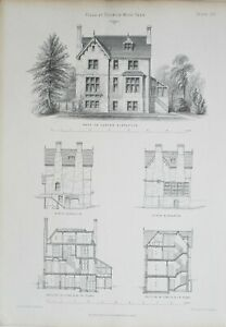 1868-Architektonisch-Aufdruck-Villa-Dulwich-Holz-Park-Banks-amp-Barry-Architekten