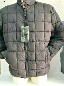 Coveri-Jacket-Mens-Quilted-Jacket-Fabric-Size-XXL-Grey