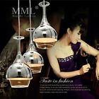 LED Glass Chandelier Wineglass Lamp Shade Ceiling Fixture Lighting Pendant Light