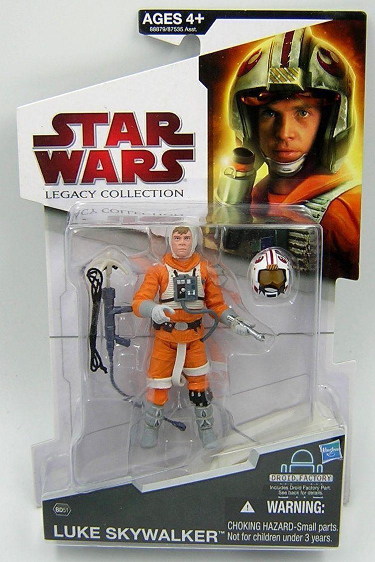 Star Wars Legacy Collection BD51 Luke Luke Luke Skywalker Snowspeeder Pilot   a8eaf0
