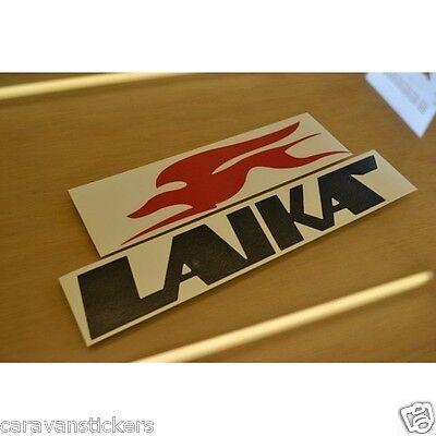 Laika Logo Decal Sticker Motorhome Camper Campervan Caravan 8 pieces pieces