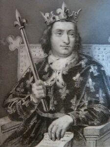 Charles-VI-Drawing-per-Massard-Painted-Dejuinne-Engraved-Blanchard-Son-Xixth