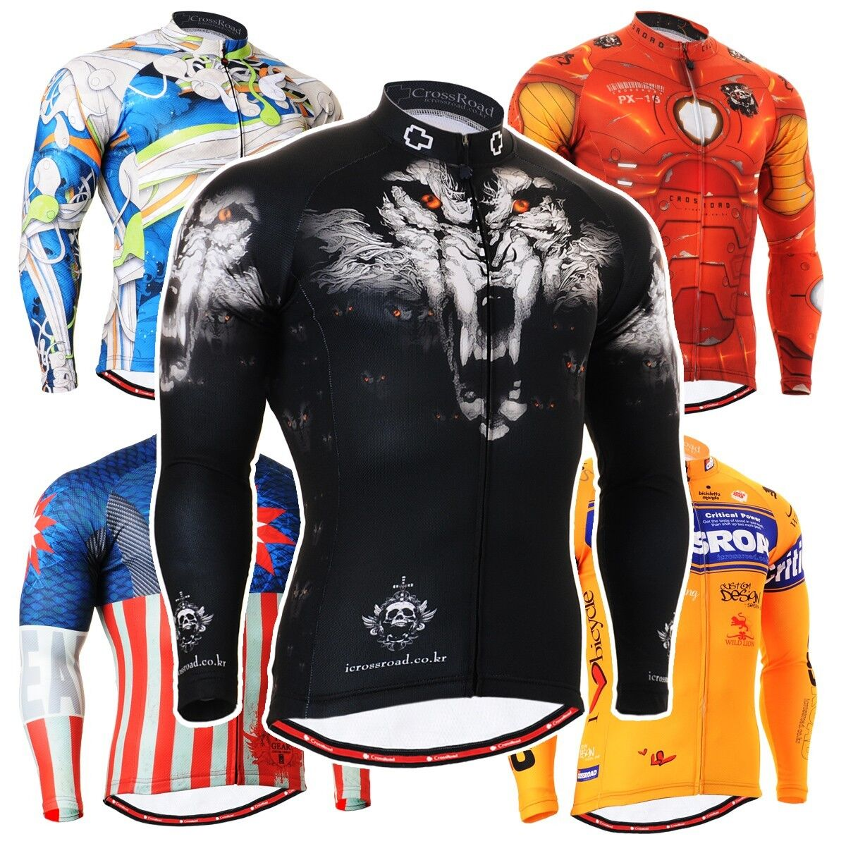 FIXGEAR CS Series Cycling Jersey Road Mountain Bike Shirts MTB Bicycle Clothing