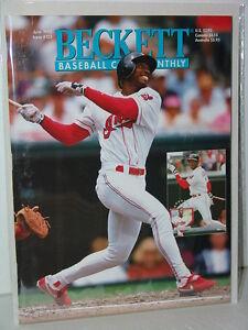 MLB-Beckett-June-1995-Issue-123-Kenny-Lofton-Cleveland-Indians-MINT