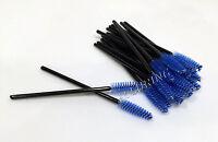 Eyelash Extension Disposable Mascara Wands Brushes Blue Color