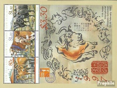 Faithful New Zealand Block64 (complete.issue.) Unmounted Mint / Never Hinged 1997 Year, H