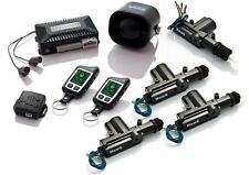 2 WAY FM TO FM  LCD CAR ALARM REMOTE ENGINE START CENTRAL LOCKING KIT ULTRASONIC