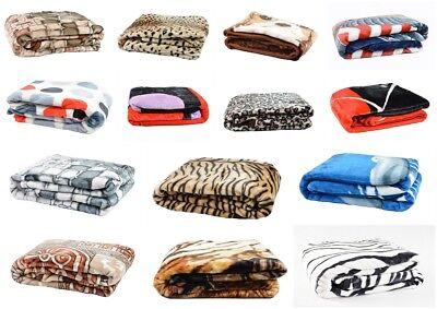 Dick Tagesdecke 160x210 Wohndecke Bettüberwurf Kuscheldecke Moderne Motive
