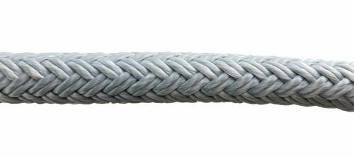16mm Grey Quality Double Braid on Braid Polyester Mooring Marine Rope