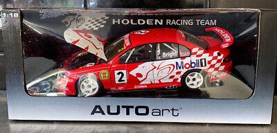 1:18 Bonnet 2001 Jason Bright VX Commodore Holden Racing Team HRT