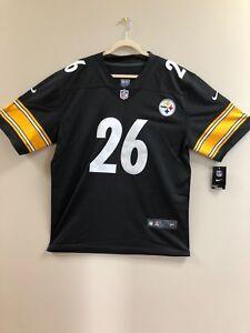 94b86eb31 NEW  Pittsburgh Steelers Le Veon Bell  26 Nike Men s Black NFL On ...