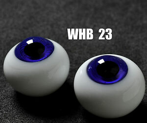 16mm BlueIris with Lines Glass BJD Eyes for DOD DZ AOD Volks Reborn Doll luts